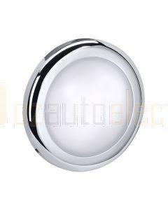 Narva 87454-12 12 Volt Chrome 70mm White Interior Lamp 3200K