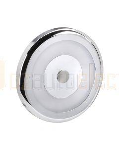 Narva 87472 10-30 Volt Chrome Bezel Interior Lamp Dimming with Switch 6000k