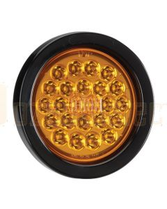 Narva 94040BL 9-33 Volt L.E.D Rear Direction Indicator Lamp Kit (Amber) with Vinyl Grommet - Lamp Only (Blister Pack)