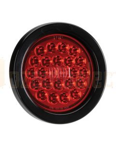 Narva 94044BL 9-33 Volt L.E.D Rear Stop/Tail Lamp Kit (Red) with Vinyl Grommet - Lamp Only (Blister Pack)