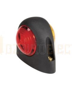 93110 9-33 Volt L.E.D Side Marker and Front Position (Side) Lamp (Red / Amber) in Neoprene Body