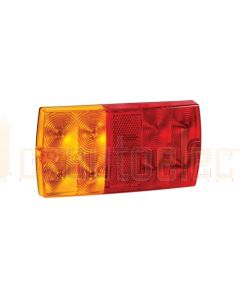 Narva 9-33V L.E.D Slimline Rear Stop / Tail, Direction Indicator Lamp with In-built Retro Reflector - Blister Pack (93632BL)
