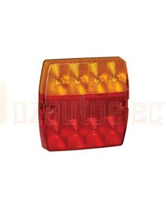 Narva 93432/10 9-33V L.E.D Slimline Rear Stop / Tail, Direction Indicator Lamp with In-built Retro Reflector Bulk Pack of 10