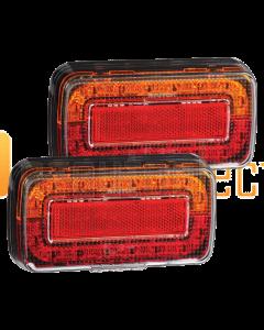 Narva 93730BL2 Model 37 12V LED Rear Stop/Tail, Direction Indicator Lamp