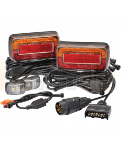 Narva 93750BL2 Model 37 12V LED Plug and Play Trailer Lamp Kit for Boat Trailers - Submersible