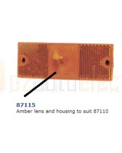 Narva 87115 Amber Lens and Housing to Suit 87110