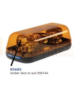 Narva 85685 Amber Lens to Suit 85674A