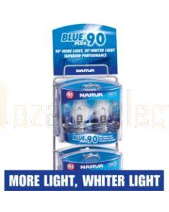 Narva 48108 Blue Plus 90 Performance Globe Merchandiser