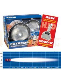 Narva 71766HID-24 Extreme H.I.D Pencil Beam Driving Lamp Kit 24 Volt 45W Chrome Mount