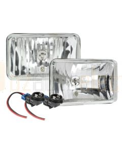 Narva 72020 H1 165 x 100mm High BeamFree Form Halogen Headlamp Only