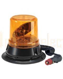 Narva Hi Optics L.E.D Rotating Beacon (Amber) Magnetic Base, 12 / 24 Volt (85274A)