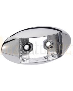 Narva 91494 Model 14 Accessories - Oval Chrome Deflector Mounting Base