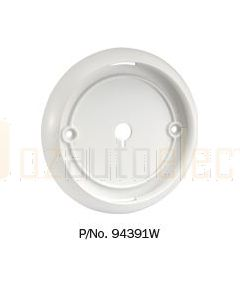 Narva 94391W Model 43 Accessories - 130mm Contoured White Base