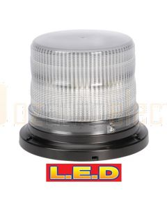 Narva 85240A Pulse High Output L.E.D Strobe Light (Amber) with 8 Selectable Flash Patterns, Flange Base, 12/24 Volt