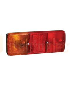 Narva 85700BL Rear Stop / Tail, Direction Indicator Lamp with In-built Retro Reflector (Shallow Body) - Blister Pack