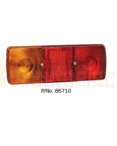 Narva 85710 Rear Stop / Tail, Direction Indicator, Licence Plate Lamp with In-built Retro Reflector (Deep Body)