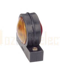 Narva 86740BL Side Marker, Front or Rear Position (Side) Lamp (Red / Amber) with Wedge Base Globe Holder - Blister Pack