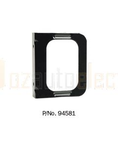 Narva 94581 Single Steel Mounting Bracket with Flange for Model 45 and 46 Lamps