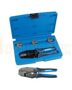 Narva 56513 Professional Ratchet Crimping Kit