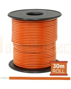 Narva 5812-30OE Orange Single Cable 2.5mm (30m Roll)