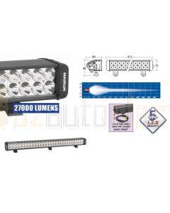 Narva 72773 9-32 Volt Double Row L.E.D Driving Lamp Bar Spot Beam – 27,000 Lumens