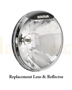 Narva 74095 Ultima 225 Broad Beam Driving Lamp Replacement Lens and Reflector