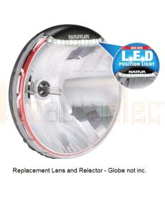 Narva 74196HID Replacement Lens and Reflector to suit Ultima 225 HID with LED