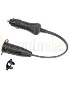 Narva 81029BL Heavy-Duty Adaptor (Cigarette Lighter Plug to Merit Socket)