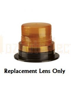 Narva 85343A Amber Lens to Suit 85338A, 85339A, 85368A, 85369A