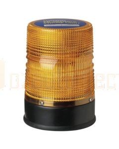 Narva 85457A 12/24V Amber Strobe Beacon with Flange Base