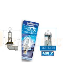 Narva 48534BL Halogen HB4 Globe 12V 51W Blue Plus 110 P22d (Blister Pack of 1)