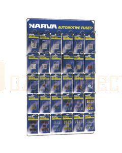 Narva 'Full Range' Blistered Fuse Merchandiser
