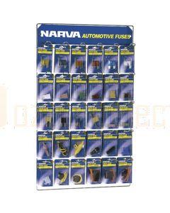 Narva 'Specialised' Blistered Fuse Merchandiser