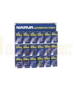 Narva 'Popular' Blistered Automotive Fuse Merchandiser