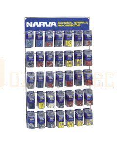 Narva 'Full Range' Blistered Terminal and Connector Merchandiser