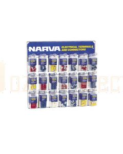 Narva 'Popular' Blistered Terminal and Connector Merchandiser