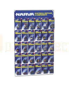 Narva 'Popular' Blistered Switch Merchandiser