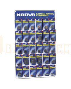 Narva 'Full Range' Blistered Switch Merchandiser 'Part 2'