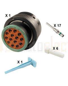 Deutsch HDP20 Series P26-18-14PN Connector Kit