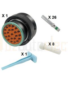 Deutsch HDP20 Series P26-24-23SN Connector Kit