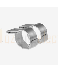 Lightforce LFBC65CP Polished Bar Clamps to suit 56mm and 65mm Diameter Bars (Pair)