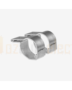 Lightforce LFBC51CP Bar Clamps to suit 44mm and 51mm Diameter Bars (pair)