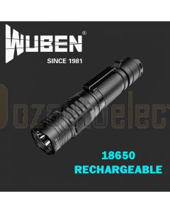 Powa Beam FW-T040R Wuben Rechargeable 18650 Torch 1200Lm