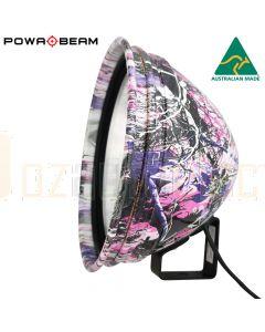 Powa Beam PLPRO-9-CP-QH 100W Pink Camo Spotlight with Bracket