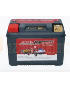 Power-Sonic SPLFP-30R Super Sport Lithium Motorcycle Battery