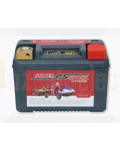Power-Sonic SPLFP-14BL Super Sport Lithium Motorcycle Battery