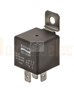 Britax C/over Mini Relay 24V 30/40amp 5 Pin n/o Resistor Type