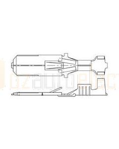 TE Connectivity 42241-1/100 6.3mm Non-Insulated Contact - Faston Pack of 100