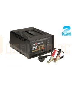 Projecta AC1000 Automatic Car Battery Charger 12V 6200mA 2 Stage