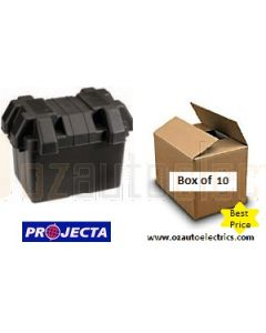 Projecta BB285B Battery Box 360L x 275W x 260H (Bulk 10)